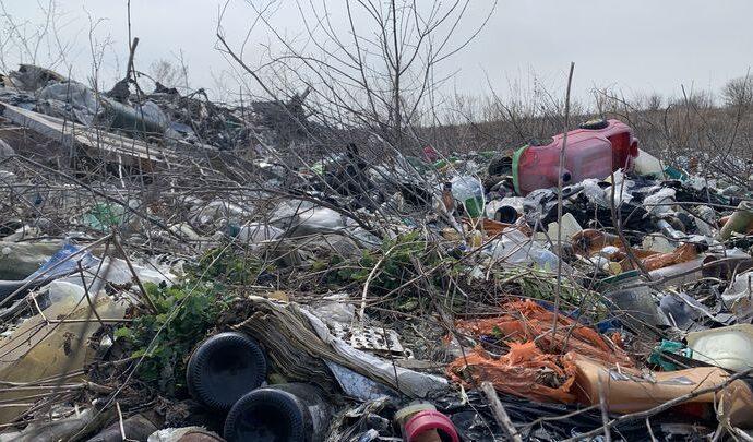 В Кимовском районе приступили к рекультивации огромной свалки