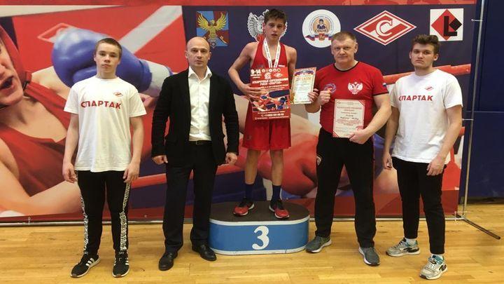 Николай Тараканов – бронзовый призёр первенства РФСО «Спартак» по боксу