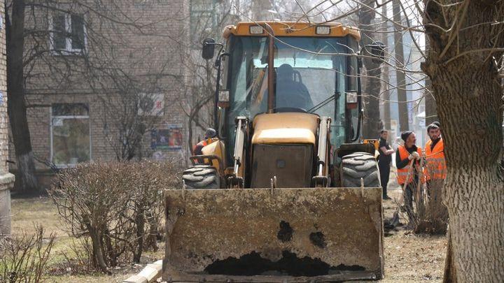 В Новомосковске стартовал ремонт дорог по программе БКАД