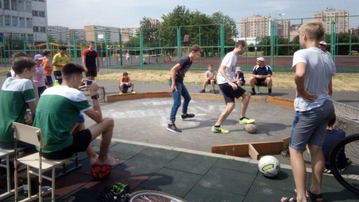 В Туле стартовали турниры по уличному футболу