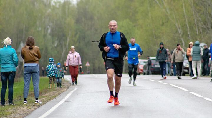 В Алексине в честь Дня Победы прошел  легкоатлетический пробег