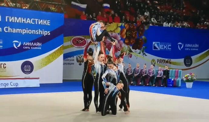 Воспитанницы «Роксэта»  успешно выступили в Москве