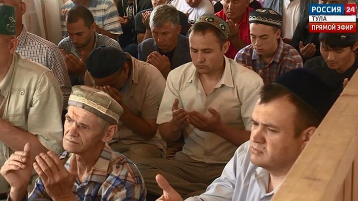 Сегодня у мусульман священный праздник  Ураза-байрам