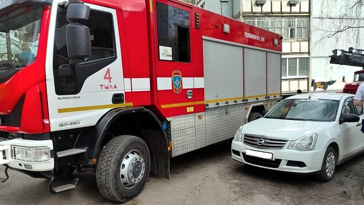 Пожар в Туле 1 мая
