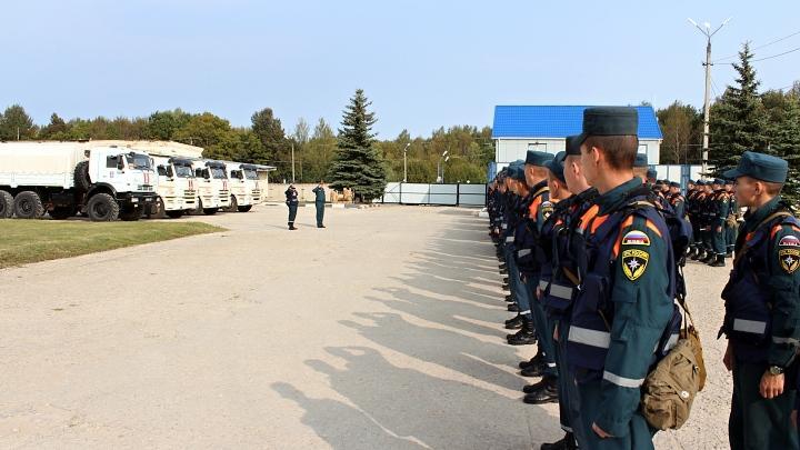 Тульский спасательный центр МЧС России