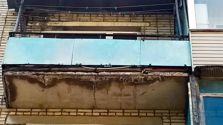 В Щёкино упавший с балкона камень разбил голову ребёнку