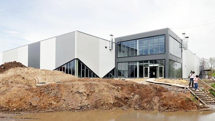 В Туле завершается строительство нового спорткомплекса с ледовой ареной