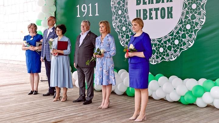 На Казанской набережной города Тулы прошла благотворительная акция«Белый цветок»