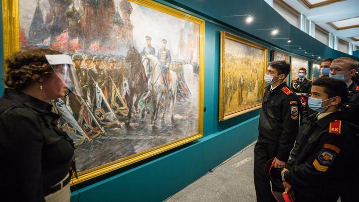Туляки увидят мультимедийную выставку «Художники Победы» не выходя из дома