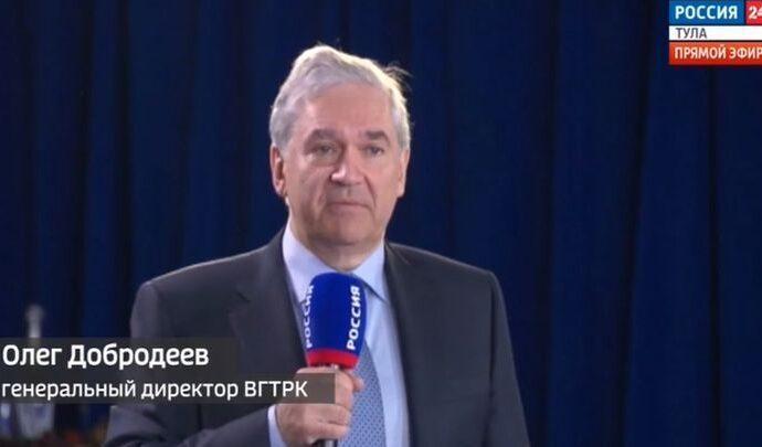 Гендиректор ВГТРК Олег Добродеев поздравил коллектив с 30-летием компании