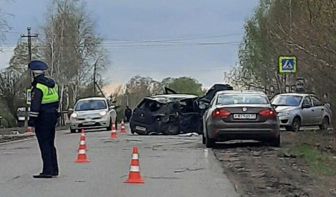 В Киреевском районе в ДТП погиб ребёнок