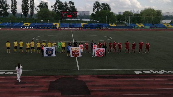 «Химик-Арсенал» сыграл вничью со «Строгино»