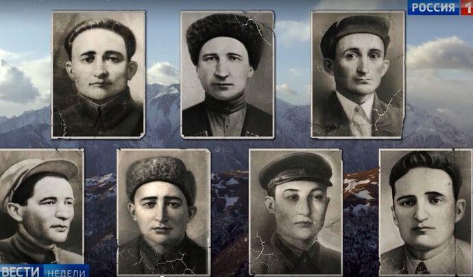 «Россия 1» покажет фильм «Братья Газдановы. Семеро бессмертных»