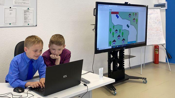 В центре цифрового образования детей «IT-куб» подвели первые итоги обучения