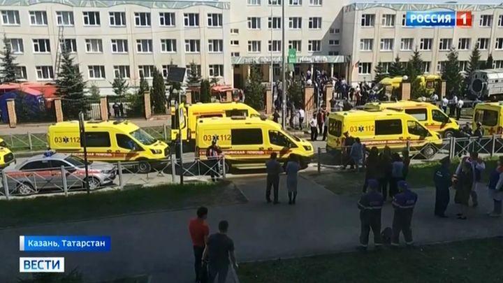 Алексей Дюмин выразил соболезнования в связи с трагедией в казанской школе