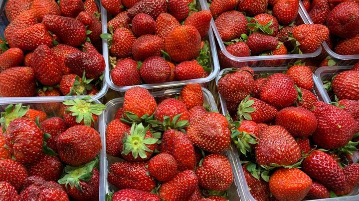 На тульских прилавках появилась первая клубника. Как выбрать «правильную» ягоду?