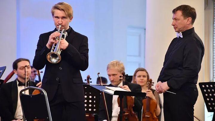 Одарённые дети дали концерт в Доме дворянского собрания.