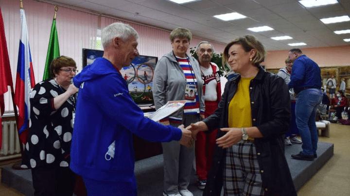 В Ефремов приехали Олимпийские легенды