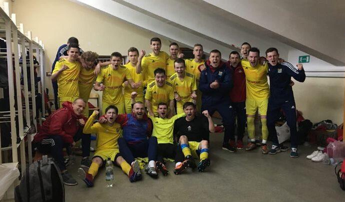 ФК «Майский» одержал первую победу в первенстве СФФ «Центр»