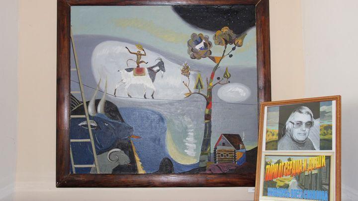 Художник Олег Соколов представил алексинцам свои «Мысли. Образы. Пейзаж»