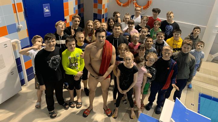 В Щекине приступили к реализации социального проекта по плаванию