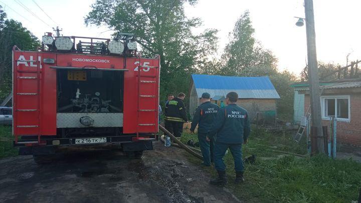 В Узловском районе на пожаре погиб 12-летний ребенок