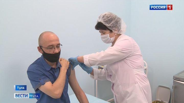 Жителям Тульской области доступны три вакцины против новой коронавирусной инфекции