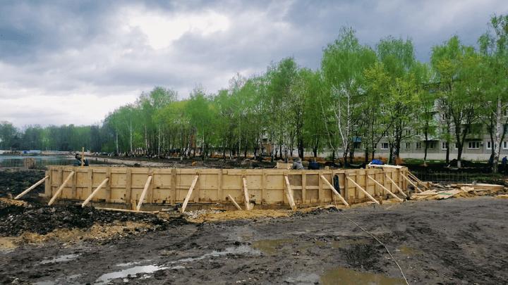 В Узловой приступили к реконструкции Свиридовского пруда