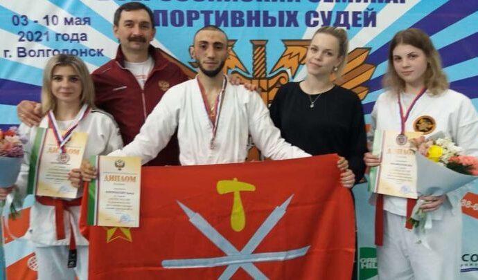 Тульские рукопашники вернулись с медалями Кубка России