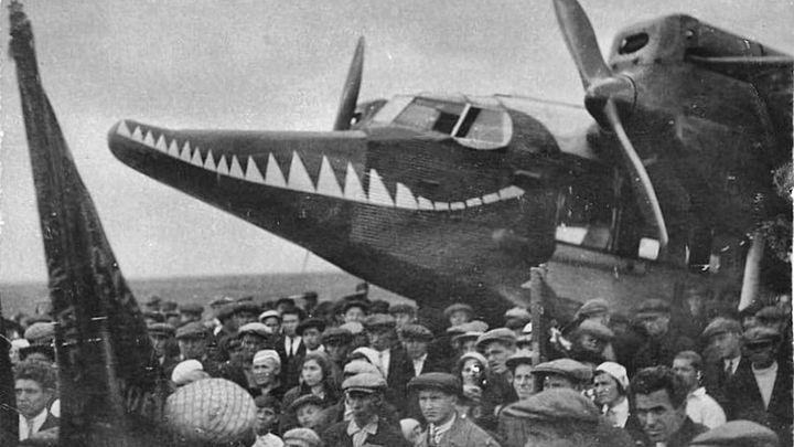 85 лет назад в Новомосковске приземлился самолёт-«крокодил»