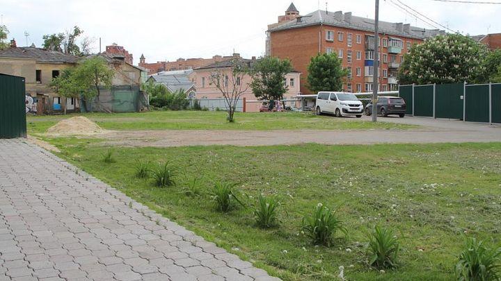 В центре Тулы на месте снесённых домов разобьют сквер