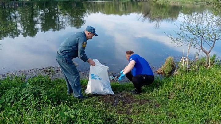 Богородицкие спасатели поучаствовали в акции «Чистый берег»