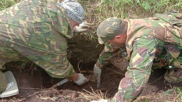В Чернском районе обнаружили место гибели танка «быстроходный самовар»