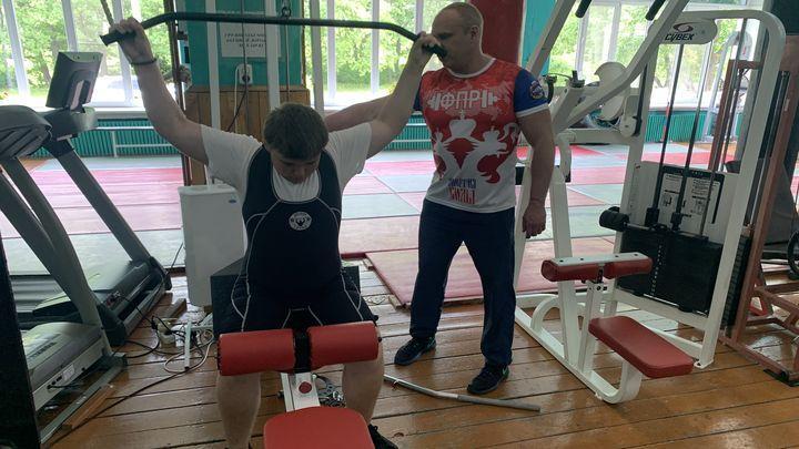 В ефремовской спортшколе дождались тренажёров