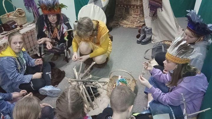 Юных жителей Узловой погрузили в Каменный век