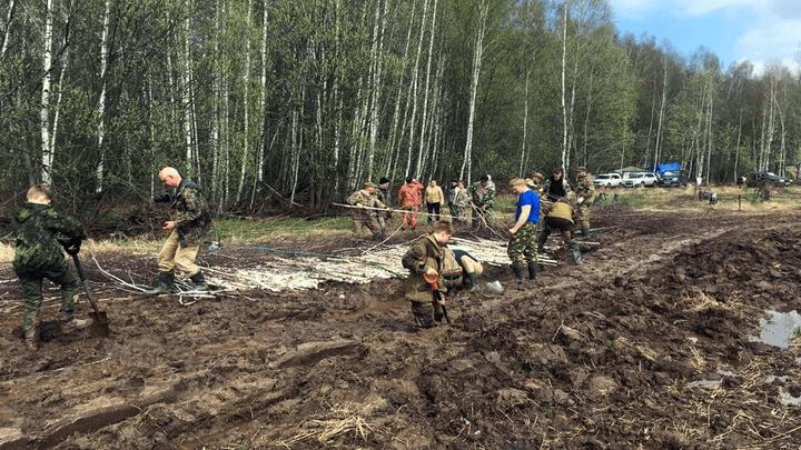 «Вахта Памяти»: в Белёве поисковики обнаружили останки ещё двух бойцов