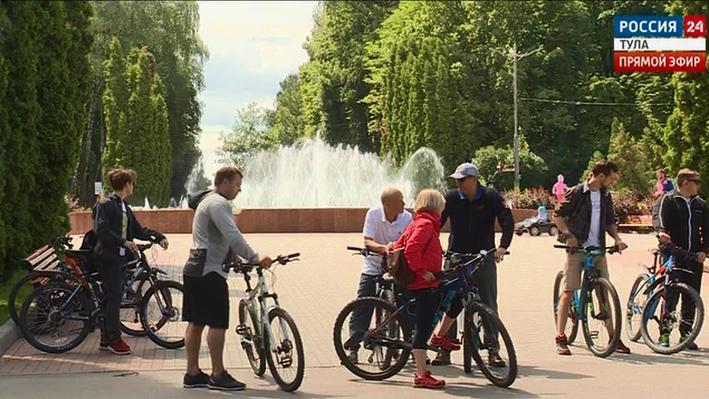 В Туле появятся новые веломаршруты