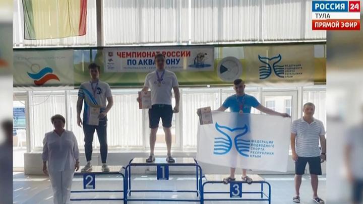 Воспитанник щёкинского «Акванавта» стал чемпионом России по акватлону