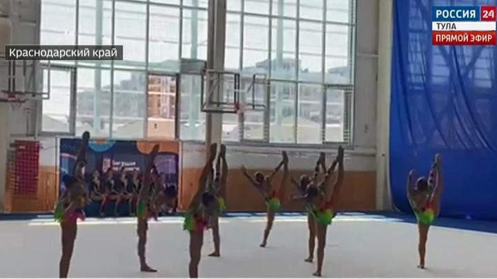 Гимнастики «Роксета» завоевали медали на турнире «Бегущая по волнам»