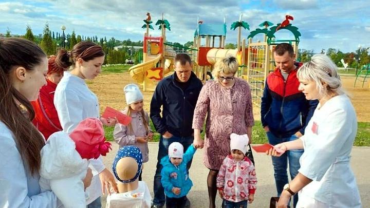 Ефремовских родителей научили оказывать доврачебную помощь детям