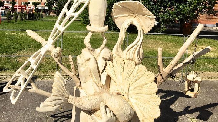 скульптура «Преданья старины глубокой»