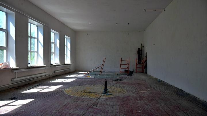 Ремонт школы в Узловском районе