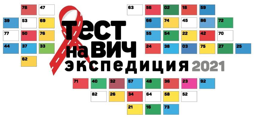 Всероссийская акция «Тест на ВИЧ: Экспедиция – 2021»