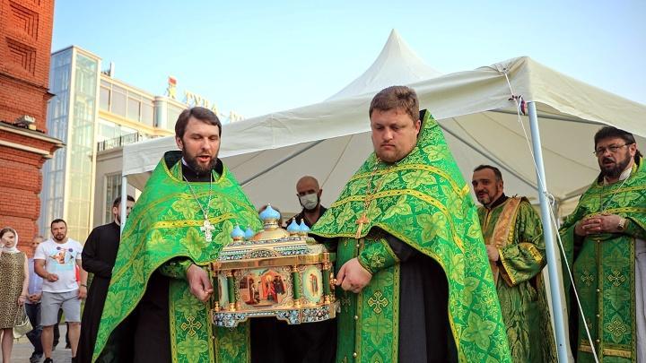 В Туле прошёл крестный ход в честь 800-летия Александра Невского