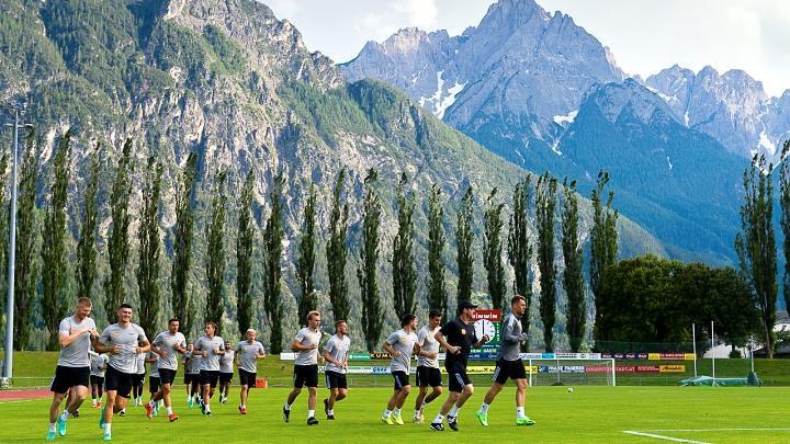 Тульский «Арсенал» на сборе в Австрии