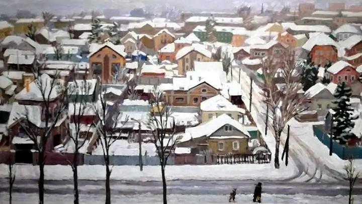 Выставка картин «Вид из окна» Дмитрия Макарова