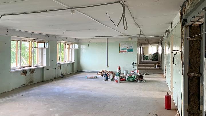 Капитальный ремонт в стационаре тульской городской больницы №2