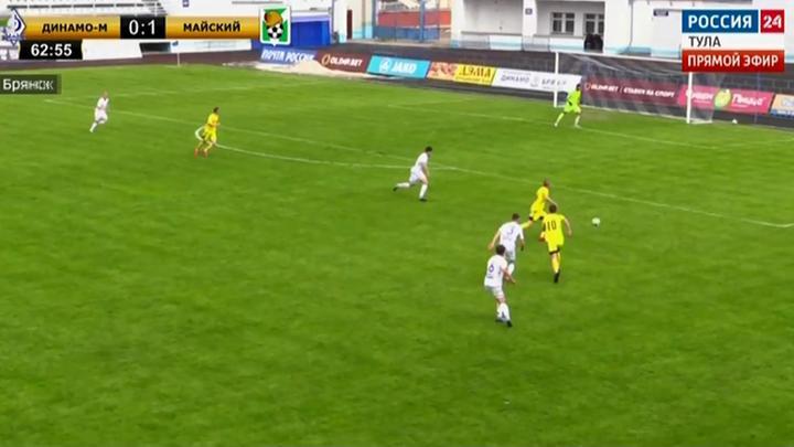Новомосковский «Химик» сыграет с футбольным клубом «Майский» из Узловского района