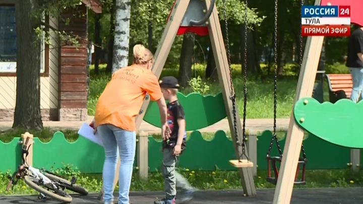 В Тульской области продолжается эксперимент «Угнать ребенка»