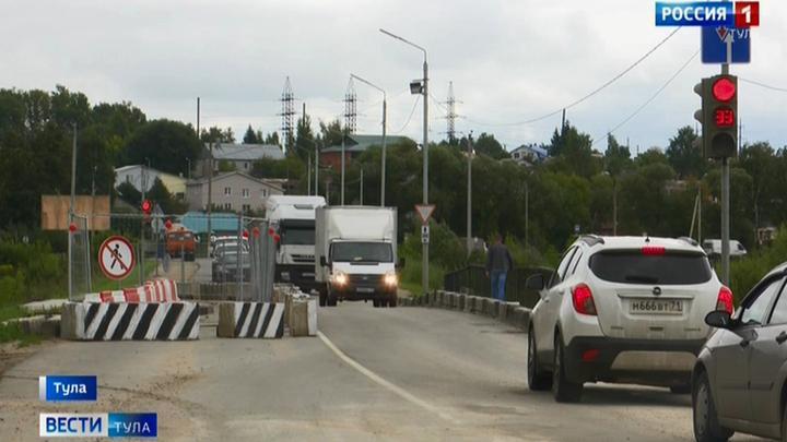 Баташевский мост через реку Тулицу реконструируют